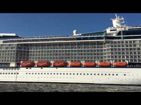 Celebrity Silhouette sail away from Port Everglades, Florida