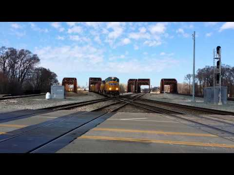 100 Subscriber Special!!! Railfanning In Blue Island On April 3rd, 2016
