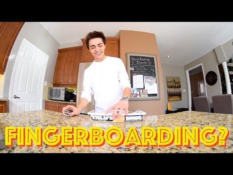 Can Gavin Still Fingerboard?
