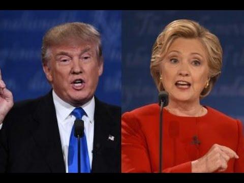 Presidential debate: Trump vs Clinton fact checked on screen