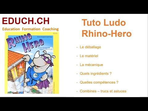 Rhino Hero Combines Trucs et Astuces Tutos Ludo Educh.ch