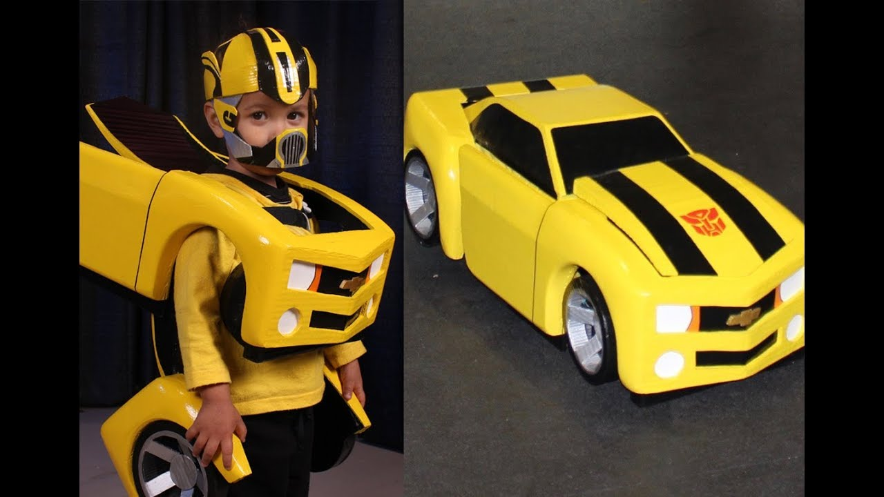 Bumblebee Costume Diy Tutorial Part 1 Of 4 Best Transformers