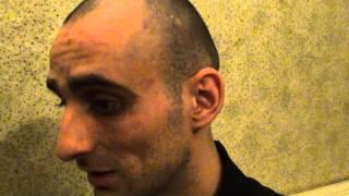 Август 2012г., ИК-6. Осужденный О6ухов  рассказывает о пыточной решетке в медкабинете ШИЗО.