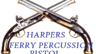 pedersoli harpers ferry percussion pistol shoot review