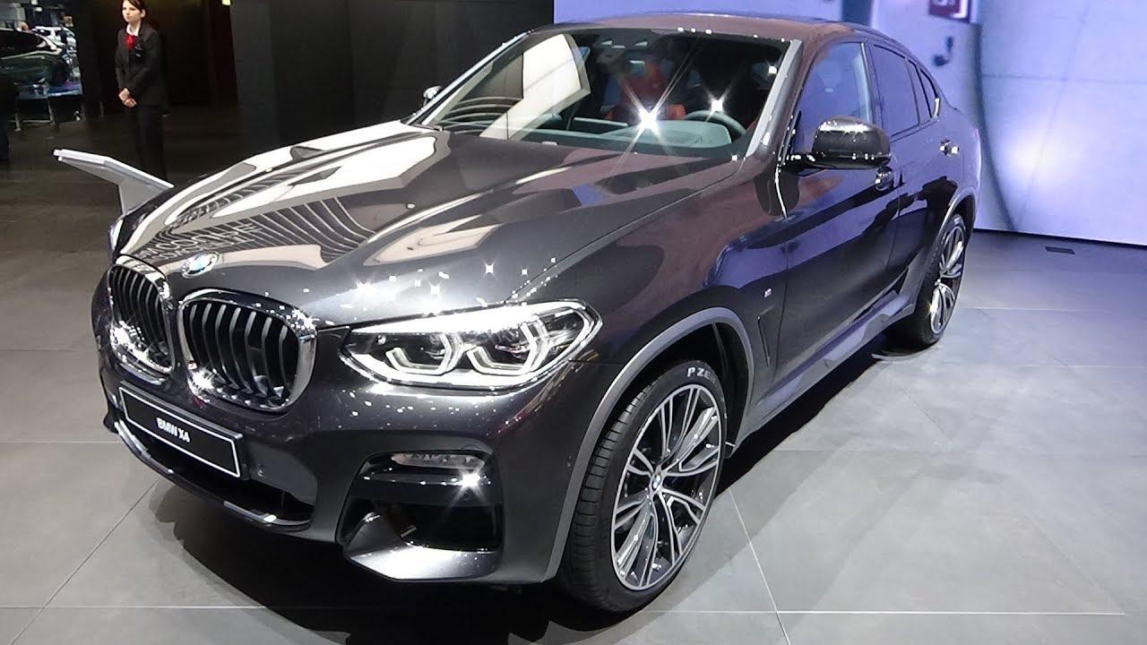 2019 Bmw X4 Xdrive Exterior And Interior Geneva Motor