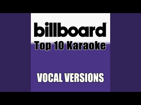 It Must Have Been Love (Made Popular By Roxette) (Vocal Version)
