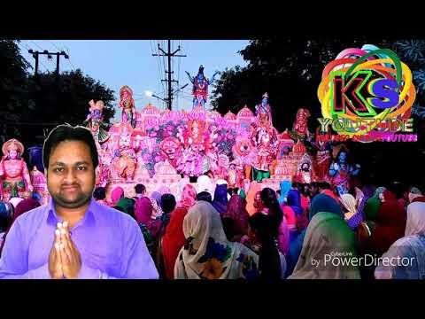 माता वैष्णो देवी की आरती माता रानी का भव्य जागरण