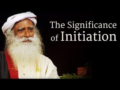 The Significance of Initiation | Yoga & Meditation