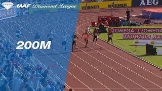 Ramil Guliyev Wins Men's 200m - IAAF Diamond League Stockholm 2018