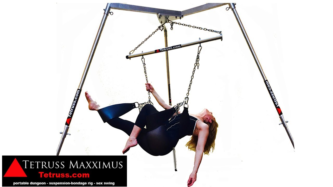 tetruss maxximus portable dungeon, shibari & suspension bondage
