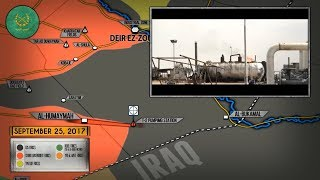 26 сентября 2017. Военная обстановка в Сирии. Наступление сирийской армии на ИГИЛ у границы с Ираком