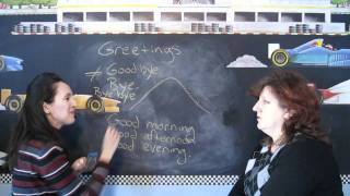 Lesson 3 - Greetings Throughout the Day - Learn English with Jennifer