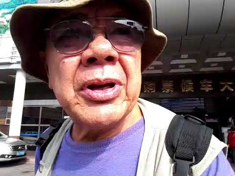 Traveling Taishan, China Nov 2017