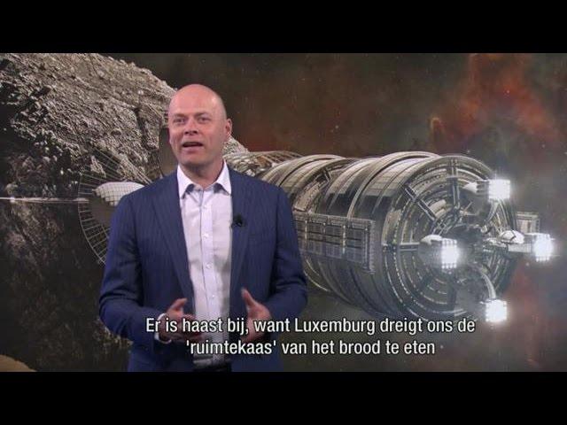 Mats bedrijven die mijnbouw in ruimte willen plegen