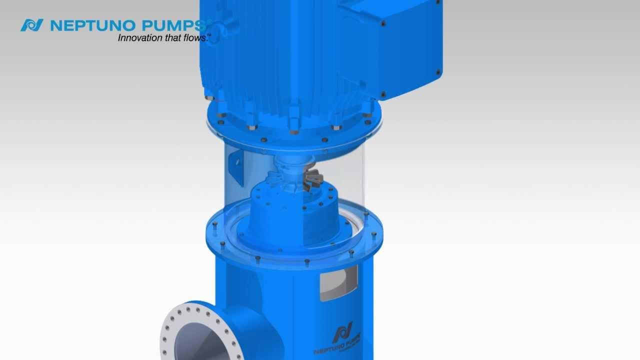 Neptuno Pumps® - Vertical Turbine Pump - Open Shaft Assembly