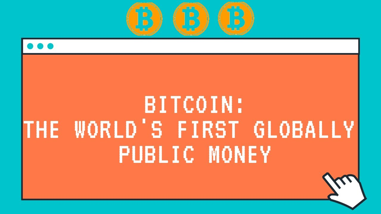 Bitcoin : The World's First Globally Public Money