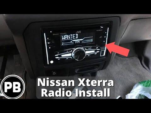 1999 - 2001 Nissan Xterra Bluetooth Radio Install JVC KW-R920BTS