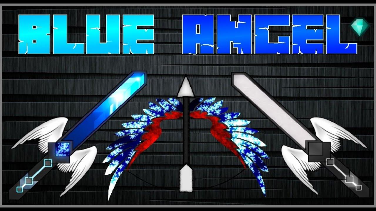 Présentation Pack de Texture Blue Angel Pack PvP 1.7/1.8 ...