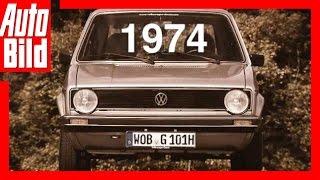 VW Golf 1 (1974) - Der Generations-Countdown/ Review/Test/ Bilster Berg