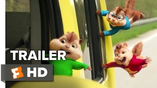 Alvin and the Chipmunks: The Road Chip Teaser TRAILER 1 (2015) - Bella Thorne Movie HD