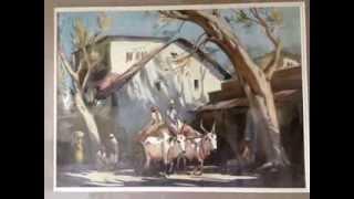 Amazing Watercolour Paintings from Indian Artists - G.D.PAUL RAJ,G.D.ARULRAJ and G.D.THYAGA RAJ