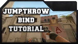CS:GO - Jumpthrow Bind Tutorial - How to install & use it