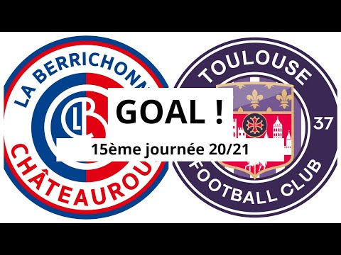 Chateauroux Toulouse Goals And Highlights