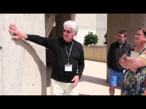 Salk Architecture: concrete