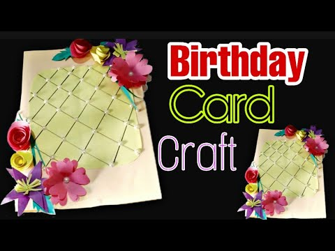 DIY Birthday Card Craft // Amazing Paper Work