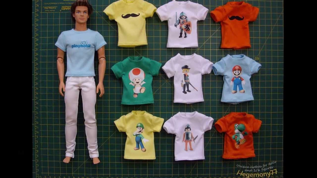 Ken doll in clothes made by Hegemony77 in 2013 - YouTube