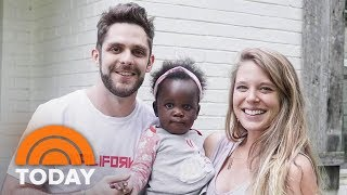 Thomas Rhett On His Newly Adopted Baby: 'Hoda Just Ruined Her!' | TODAY