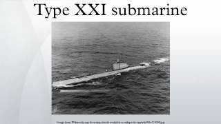 Type XXI submarine