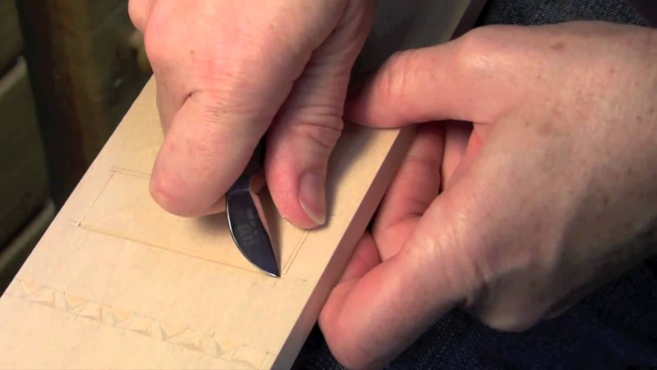 Chip carving tips for beginners youtube