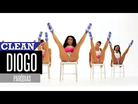 Nicki Minaj - Anaconda (Paródia/Redublagem) [Clean Version]