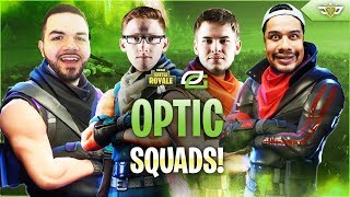 OPTIC GAMING PRO FORTNITE TEAM?! with Scump, H3CZ, and Karma! (Fortnite: Battle Royale)