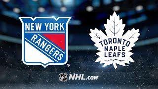 Seven Leafs score in 8-5 victory against the Rangers