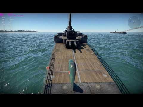 War Thunder - Heavy Cruiser Landing
