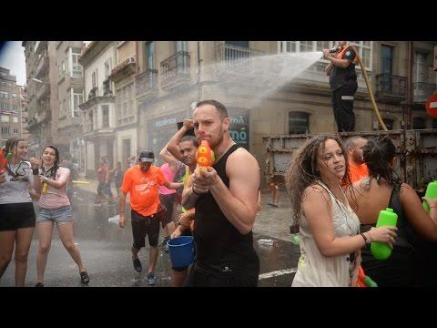 Fiesta del Agua 2016 en Vilagarcía de Arousa
