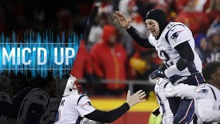 """Patriots vs. Chiefs Mic'd Up, """"They said I went offsides... did I?"""" (AFC Championship)"""