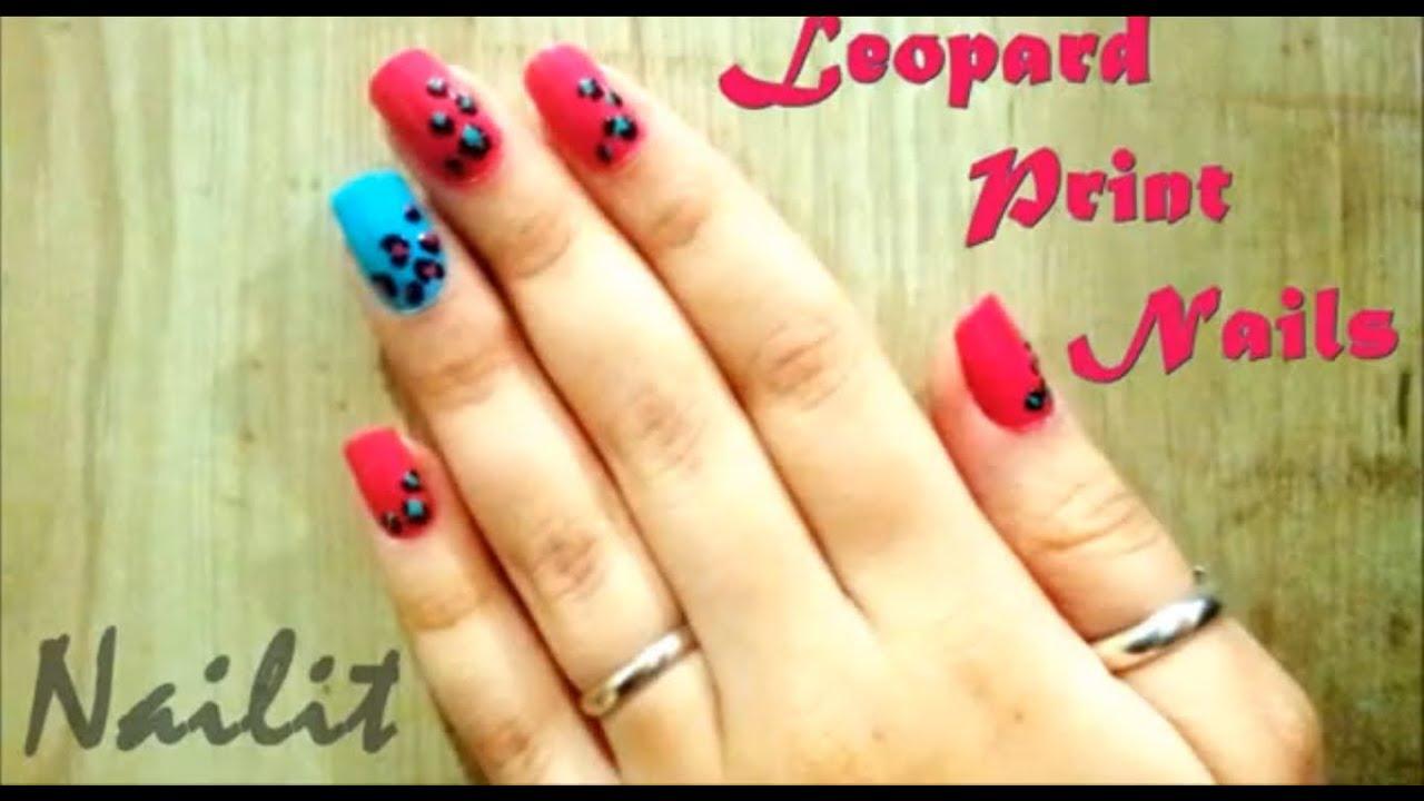Do It Yourself Leopard Print Nails 2013 Best Colour Combination