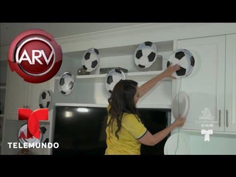 Trucos para arreglar la casa y disfrutar el mundial   Al Rojo Vivo   Telemundo