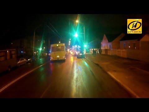 Пьяный водитель сбил мать с ребёнком на пешеходном переходе в Минске