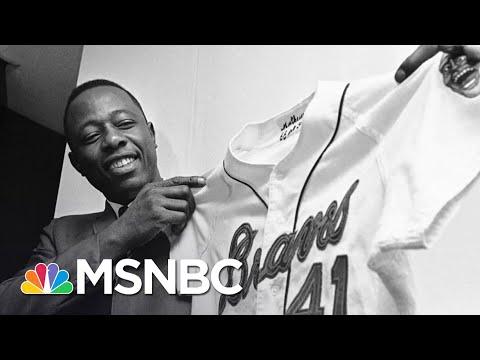 Baseball Icon Hank Aaron Dies At 86 | Craig Melvin | MSNBC