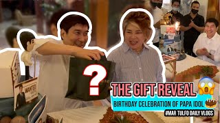 BIRTHDAY CELEBRATION OF PAPA IDOL AND THE GIFT REVEAL 🎁 | Maricel Tulfo-Tungol