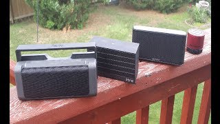 Bluetooth Speakers Comparisson Best for the Money