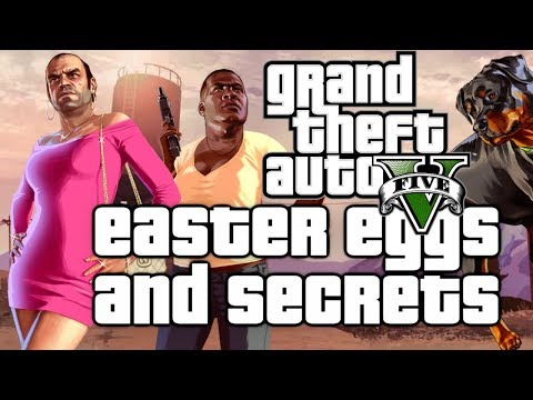 Grand Theft Auto V Easter Eggs And Secrets HD
