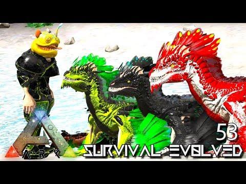 ARK: SURVIVAL EVOLVED - ALPHA ROCK DRAKE BABIES & ELECTRIC GRIFFIN E53 !!! ( PRIMAL FEAR PYRIA )