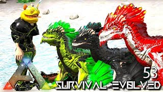 ARK: SURVIVAL EVOLVED - ALPHA ROCK DRAKE BABIES & ELECTRIC GRIFFIN E53 !!! ( PRIMAL FEAR PYRIA )