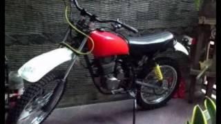 Video Modifikasi Motor Trail Klasik Honda tiger''Tangki Honda Xl''Frame Custom