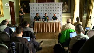#Behind the Green: 02 Irish Wolfhounds Press Conference